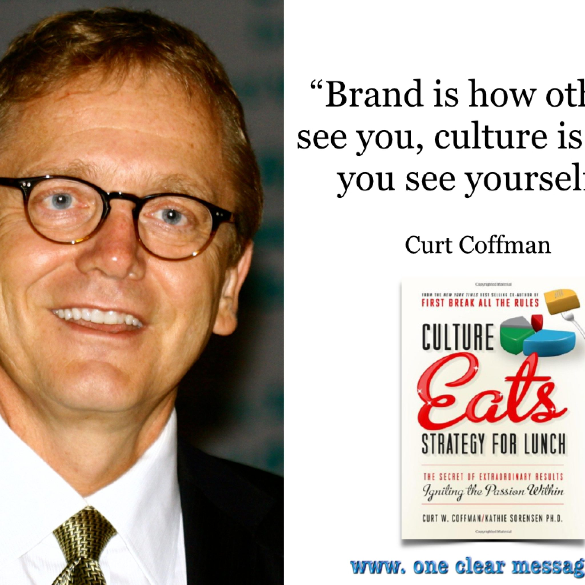Brand is how others see you, culture is how you see yourself