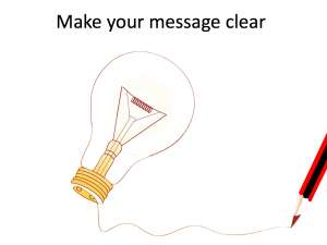 Clear writing tips
