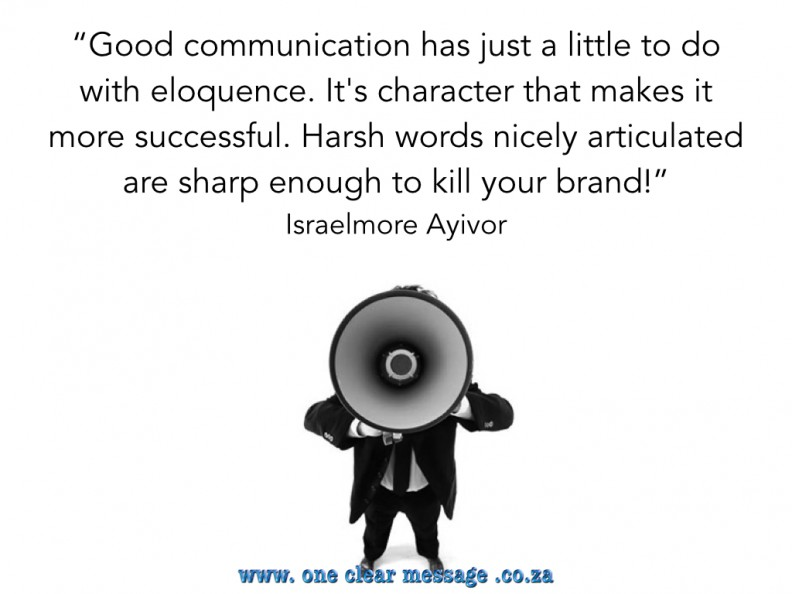 Communication and your brand A plain English communication strategy help engage your audience and reduce confusion.