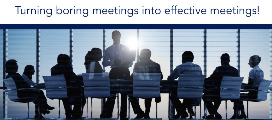 Effective meetings save you time and money