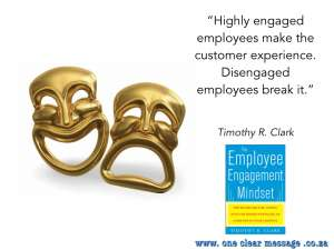 support employee engagement