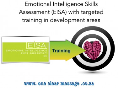 Emotional Intelligence Skills Assessment (EISA) with targeted training