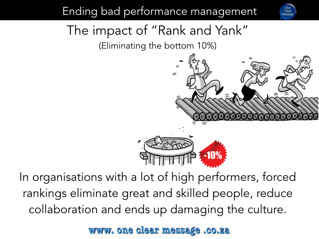 High performance doesn't follow a bell curve reviews