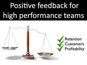 Balanced Feedback for engaged teams