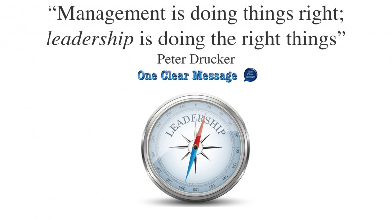managers do things right leaders do the right thing Managers do things right leaders do the right thing this is the primary difference between a good manager and a good leader a good manager can accomplish only what has been defined and documented for him or her, yet a good leader constantly questions why things are done the way they are and is able to recognize the value and potential.