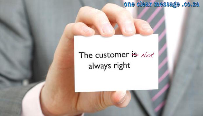 """Why in customer service """"The customer is always right"""" is WRONG"""