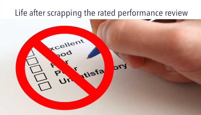 Scrap annual rated performance reviews - then what?