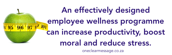 effectively designed employee wellness programme